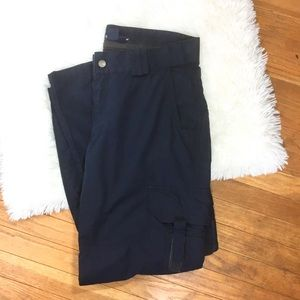 5.11 Tactical Series Pants Size 12 Regular Blue